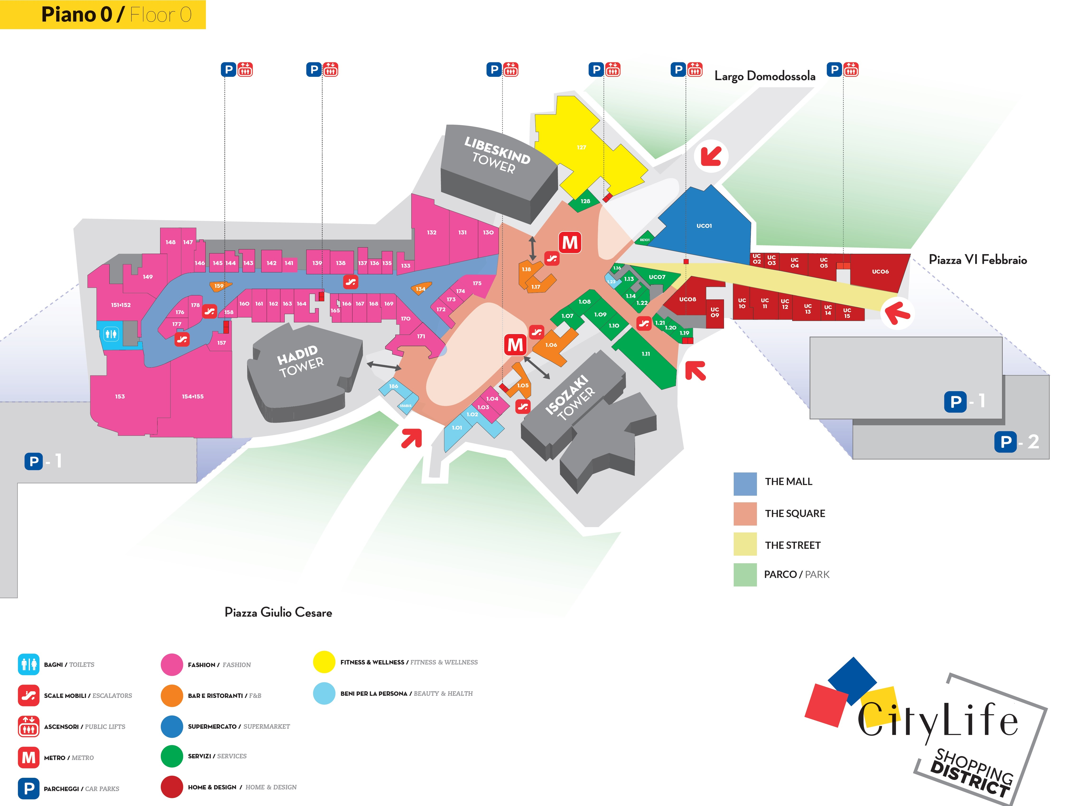 CityLife Shopping District aprirà il 30 Novembre 2017